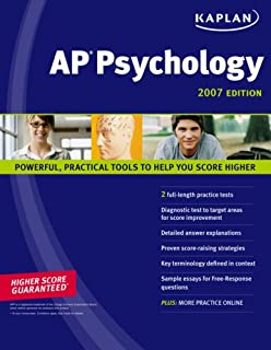 Kaplan AP Psychology 2007 Edition
