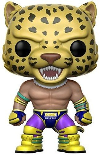 Funko 12827 Tekken Actionfigur King, Multi