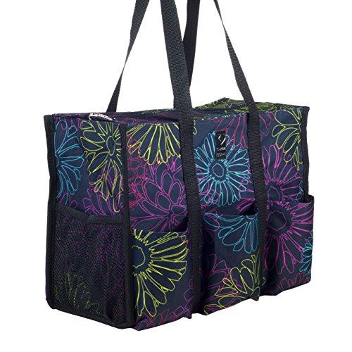 Nurse Bag - Perfect Nursing Tote for Nurses, Nursing Students (Dancing Bloom)