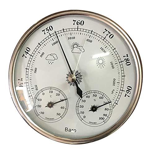 yotijar Precisión 3 en 1 Barómetro Estación meteorológica Barómetro Termómetro