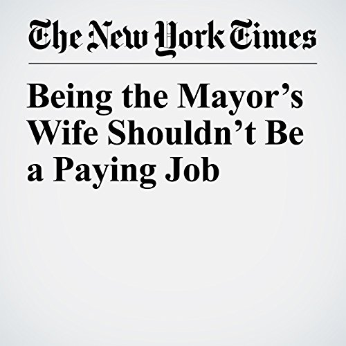 Being the Mayor's Wife Shouldn't Be a Paying Job copertina