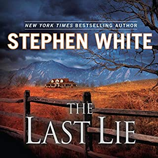 The Last Lie audiobook cover art