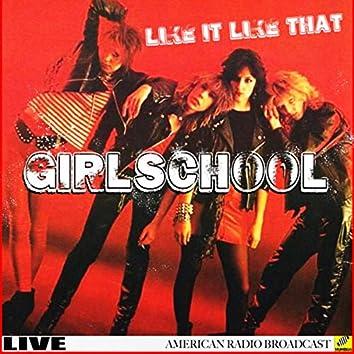 Girlschool - I Like It Like That (Live)