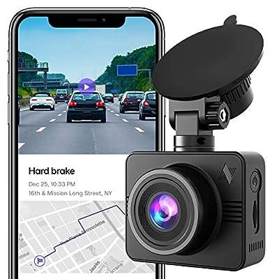 Nexar Beam Full HD 1080p Dash Cam | New 2020 Model | 32 GB SD Card Included | WiFi | Unlimited Cloud Storage