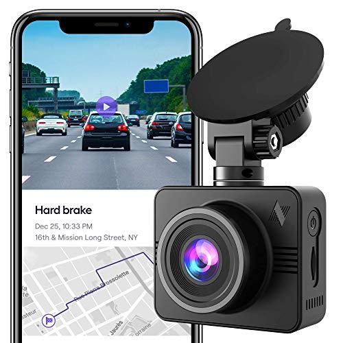Nexar Beam Full HD 1080p Dash Cam | 2020 Model | 32 GB SD Card Included | WiFi | Unlimited Cloud Storage