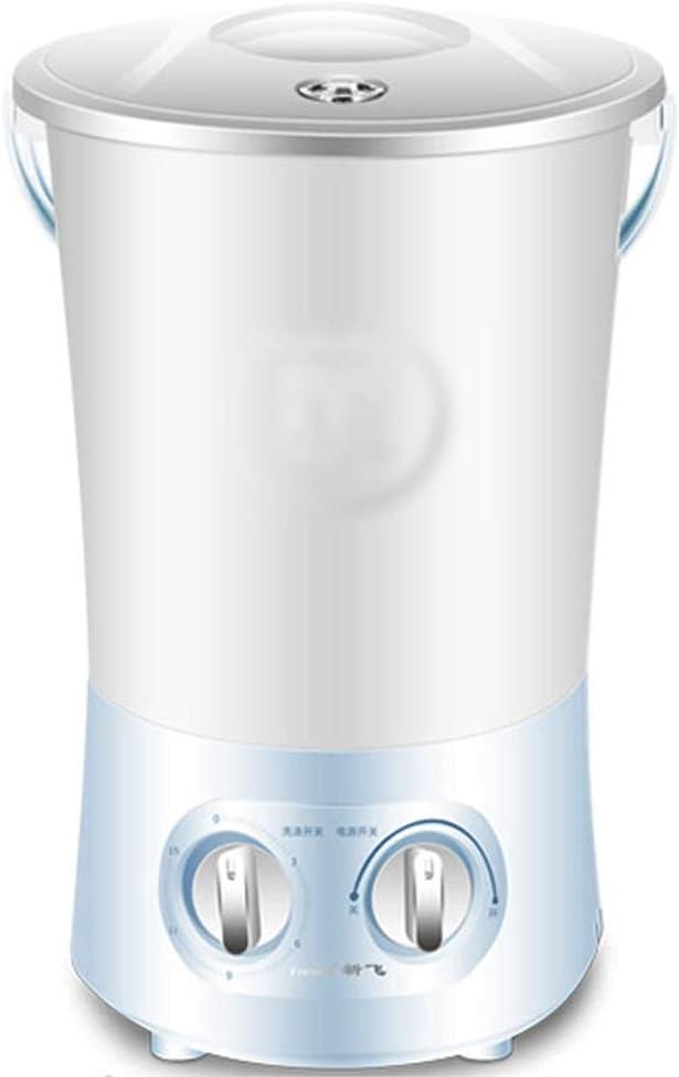Lavadora Secadora,Lavadora Mini Turbina, Lavadora Integrada, Mini Lavadora, Lavadora Portátil, para Viajes Y Lavandería Infantil (Color : Blue, Size : 32 * 25 * 50cm)