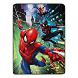 Marvel's Spider-Man, 'Swing City' Micro Raschel Throw Blanket, 46' x 60', Multi Color