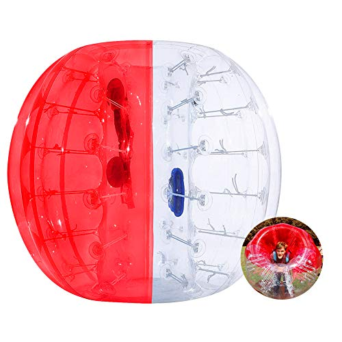 ThinkMax Bumper Ball for Kids and Adults, 4FT / 5FT Inflatable Bubble Soccer Ball, Human Hamster Ball Body Zorb Ball
