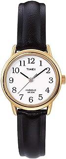 Timex Womens Quartz Watch Watch Watch Analog Display And Leather Strap - T20433