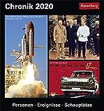 Chronik Kulturkalender. Tischkalender 2020. Tageskalendarium. Blockkalender. Format 15,4 x 16,5 cm - Harenberg