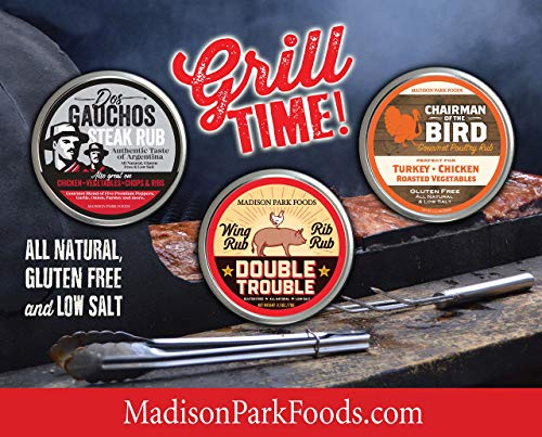 Two Pack Bonus - Chairman of the Bird Gourmet Poultry Seasoning and Dos Gauchos Authentic Argentine...
