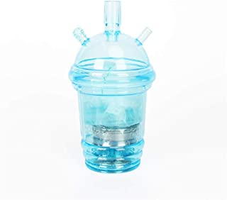 Wholesale Narghile Logo Cheapest Price Custom Sheesha Plastic Travel LED Light Chicha Car Portable Hookah Shisha Cup