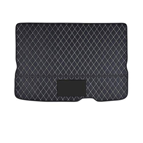 LMDC Car Fully enclosed trunk protection mat leather pad Fit for BMW MINI COOPER ONE F54 F55 F56 F60 R60 CLUBMAN Car accessories interior (Color Name : Style 4, Size : Fit for F57)