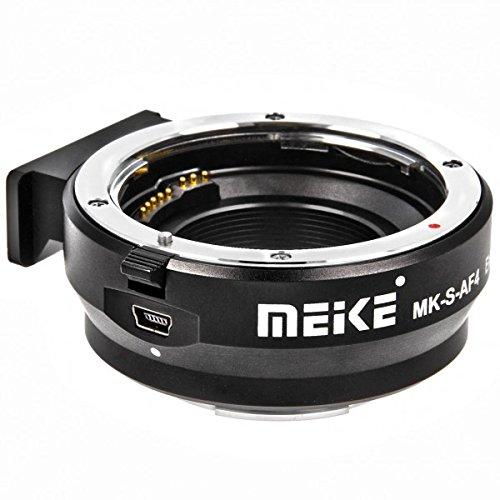 Impulsfoto Adattatore per obiettivo Canon EF/EF-S su fotocamera Sony NEX – Adattatore di montaggio da Canon a Sony