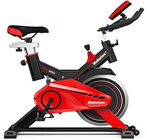 Maketec Bicicleta Spinning Volante de inercia de 24 Kilos