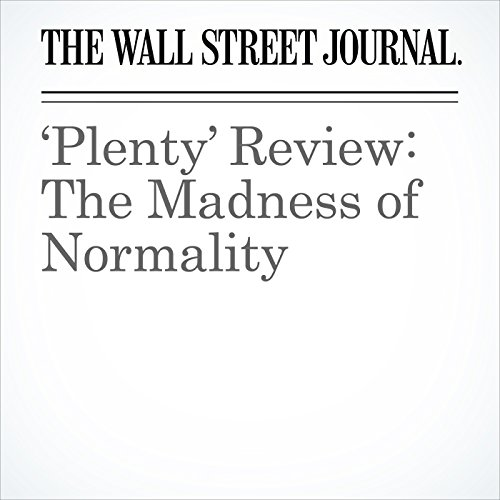 'Plenty' Review: The Madness of Normality audiobook cover art