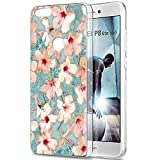 Pnakqil Huawei P8 Lite 2017 Case, Transparent Clear with