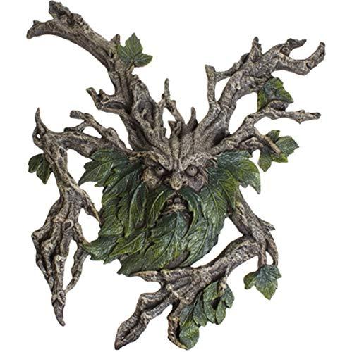 Dark Dreams Gothic Mittelalter Wandrelief Baum Greenman Baumgeist Figur