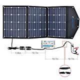 ACOPOWER 12V 105W Solar Panel Kit w 10A Charge Controller for both RV/Camper Boat Battery and DC Devices
