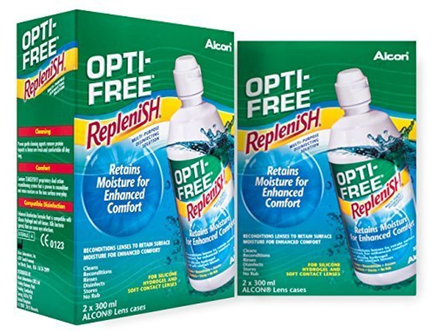 コメント優しさ家族Alcon Opti-Free Replenish Contact Lens Solution 4x300ml 6 mths supply by Alcon
