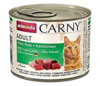 Natural: This cat food of course only contains fresh meat ingredients with no flavour enhancers, grains, sugar, soy, colourants or preservatives. For adult cats: Carny Adult stands for a balanced, delicious and healthy diet, providing adult cats betw...
