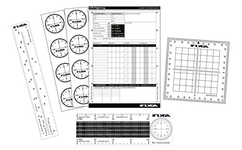 FlyGA Flight-Set–für das PPL Starter-Kit (A), lapl PPL (H-, CPL, mit