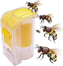 Professional 1pcs Bee Queen Marking Catcher Plastic One Handed Marker Bottle Plunger, Queen Bee Live - Queen Bee, Bee Queen, Queen Bees, Live Queen Bee, Queen Bee Keeping, Queen Cage, Queen Cages