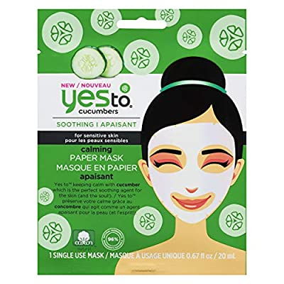 Yes To Cucumbers Soothing Calming Sheet Mask (1 Count)