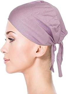 TheHijabStore.com قبعات جيرسي بونيه تحت وشاح أغطية الرأس للنساء قبعة عمامة مع إغلاق ربط خلفي
