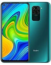 "Redmi Note 9 smartphone- RAM 4GB ROM 128GB 6.53 ""FHD + DotDisplay 48 MP Hot Camera met vier camera's 3.5mm headphone jack 5020 mAh NFC Groen"