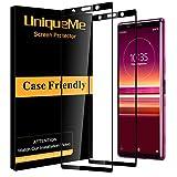 UniqueMe [2 Stück] Schutzfolie für Sony Xperia 5, Sony