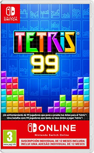 Tetris 99 + 12 meses Nintendo Switch Online [Edizione: Spagna]