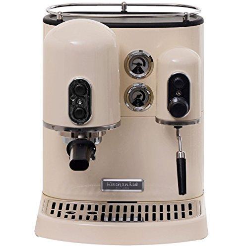 KitchenAid 5KES2102EAC - Cafetera combinada espresso/goteo, diseño rustico