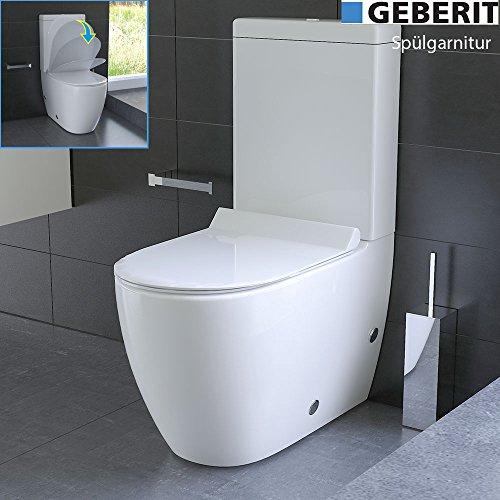 Inodoro de diseño con cisterna Geberit,...
