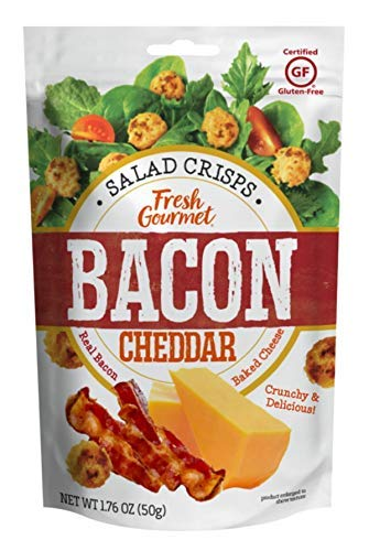 Salad Crisps Fresh Gourmet Bacon Cheddar (1) 1.76 oz (50g) bag