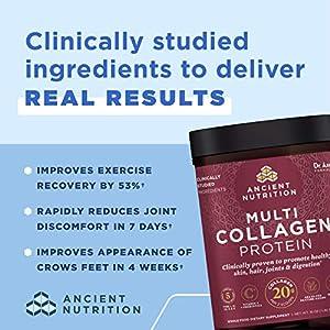 Ancient Nutrition Multi Collagen Protein Powder Unflavored 459 Grams