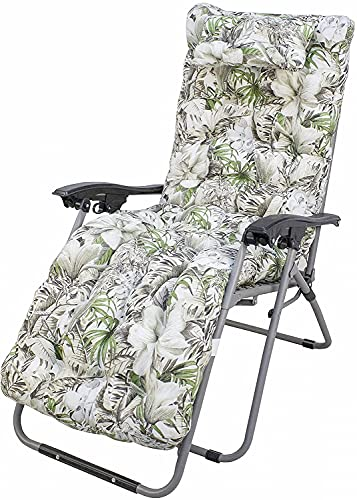 Bravo Home - Cojín de tumbona para baño de sol, 180 x 50 x 10 cm, cojín cómodo y suave, respaldo antideslizante, cojín de asiento con respaldo alto para interior y exterior