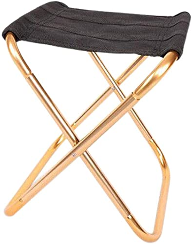 de plein air Folding Stool Collapsible Folding Stool de plein air Activicravates portable Chair portable voyage Chair de plein air Camping U-55 (or)
