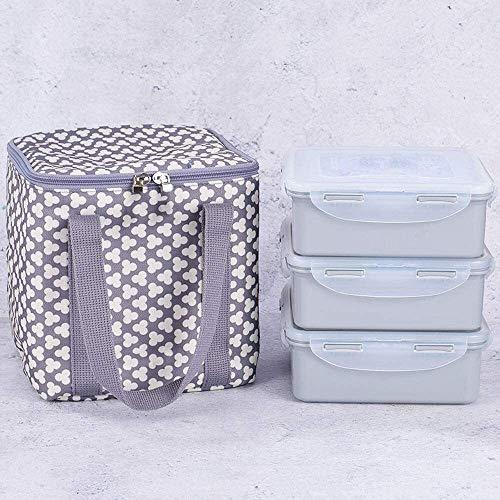 Fiambrera Lonchera de plástico;Caja de almuerzo;Microondas caja de almuerzo;Recipiente de plástico;Crisper selladas;Bolsa de picnic;Frigorífico, Cocina Caja de almacenamiento;Rectángulo de la fruta;Sn