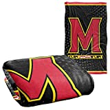 University of Maryland Terrapin Blanket, 36'x58', Logo Dots, Silky Touch Super Soft Throw