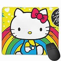 ハローキティ マウスパッド ゲーミング オフィス最適 高級感 おしゃれ耐久性が良 付着力が強い30x25x0.3cm