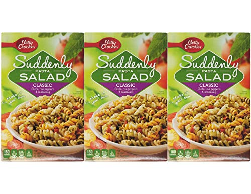 Betty Crocker Suddenly Salad, Classic Pasta, 7.75 oz, 3 pk