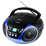 Best Cd Player For Kids - Tyler TAU101-BL Portable Sport Stereo CD Player Review