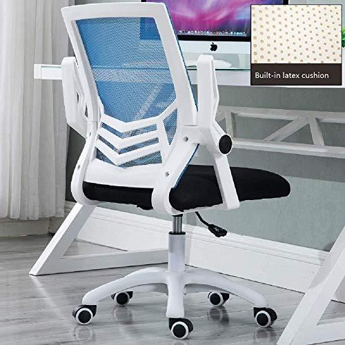 ANXWA Ergonomie De La Chaise D'ordinateur Chaise De Bureau Dossier Chaise Pivotante Chaise De Jeu...