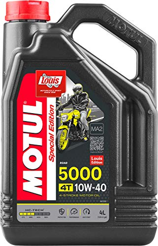 Motul 5000 4T 10W40 Motorcycle Oil 4 L