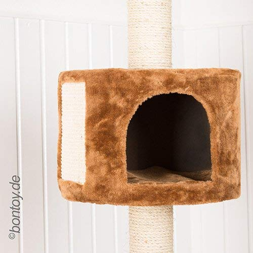 Das 3 Ebene Bontoy Katzenbaum / Höhenverstellbar - 2