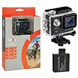 """Lexi 30fps Waterproof Sports <span class='highlight'>Action</span> <span class='highlight'>Camera</span>; <span class='highlight'>Underwater</span> Camcorder with Wifi, 2.0"""" LCD Screen, 170° Wide Angle Lens, 1050 mAh Rechargeable Battery and Mounting Accessories Kit."""