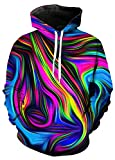 SWAG Hipster Men Hoodie Women Pastel tie dye Hoodies Sweatshirt (4XL)