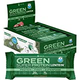 NECTIS Green Super Protein Complete Meal Replacement 83 gram Bars, 20 grams plant protein, high fiber, vegan, no soy,...