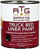 RTG Supply Co. Truck Bed Liner Paint (Black, Quart)